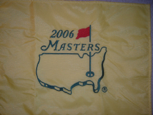 c4eab3ffacf 2006 Masters Flag It will also be a very popular year with Phil s Victory  value  40-50